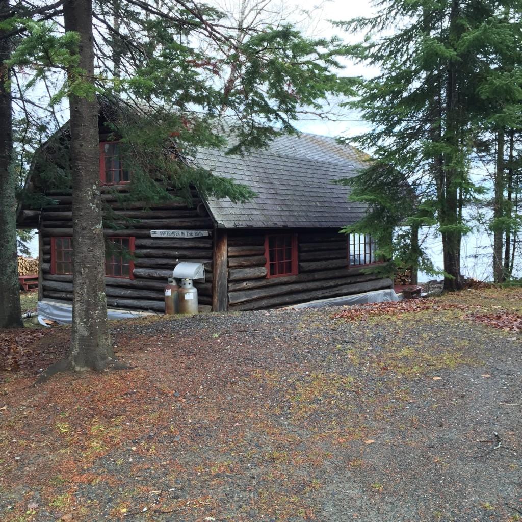 Cabin XVI September in the Rain